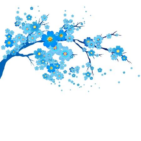 lowers: flowers tree Illustration