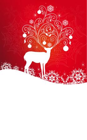 Christmas,New Year design Illustration