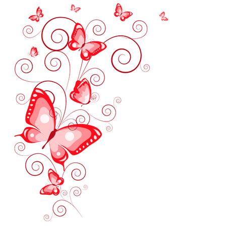 butterflies Ilustração