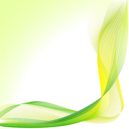 abstract waves design Ilustração