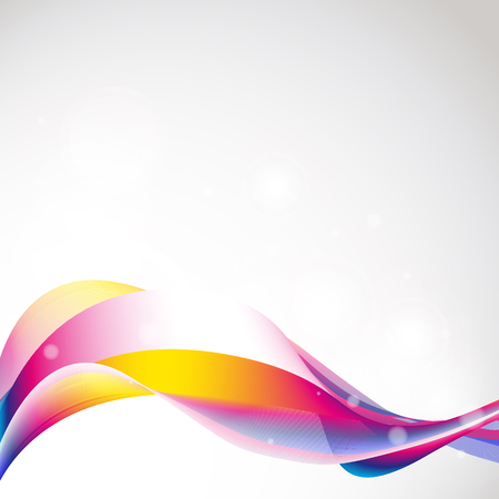 watter: abstract waves design Illustration