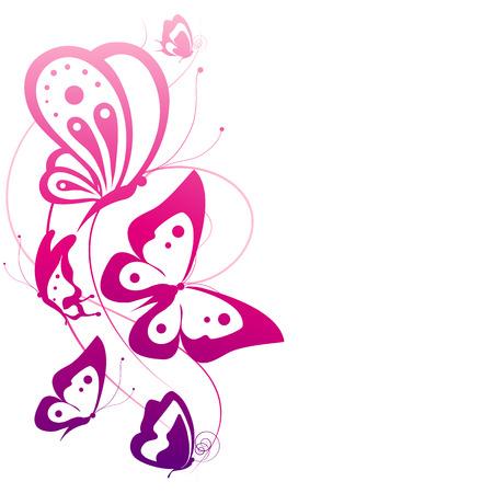 Farfalle di progettazione Archivio Fotografico - 24062774