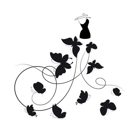 dress,wedding design Stock Vector - 25244999
