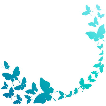 butterfly wings: butterflies design Illustration