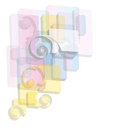 watter: abstract background Illustration