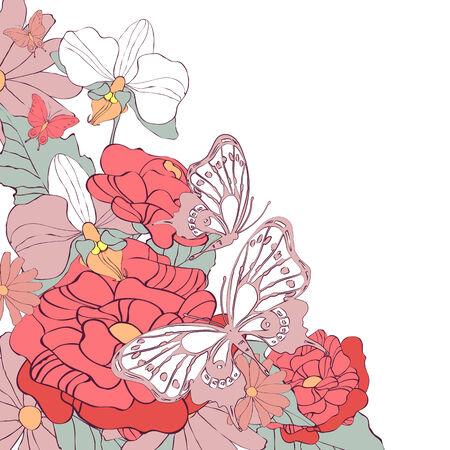 �ard: butterflies design Illustration