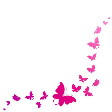 butterflies flying: diseño de mariposas