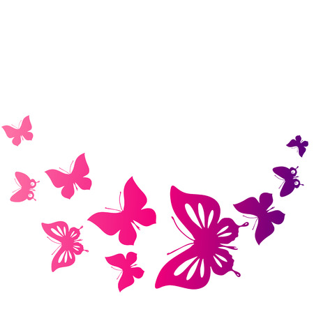 Farfalle di progettazione Archivio Fotografico - 26966882