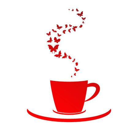 tasse caf�: tasse, caf� Illustration
