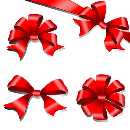 bussiness card: bows design Illustration
