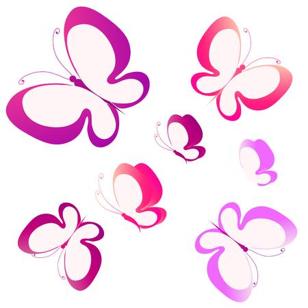 butterflies design Stock Vector - 35911317
