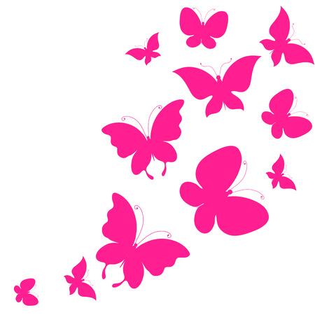 Conception de papillons Banque d'images - 37084124