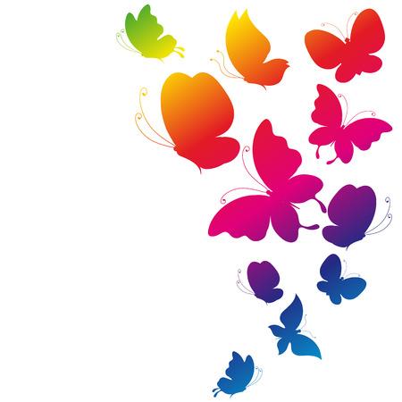 mariposas amarillas: diseño de mariposas