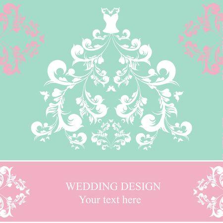 moño rosa: diseño del vestido