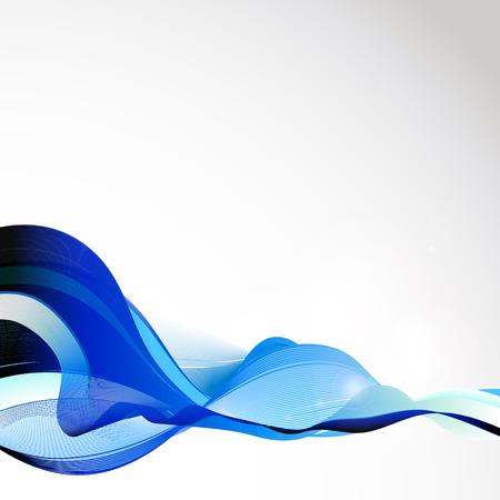 modrý: abstraktní pozadí Ilustrace