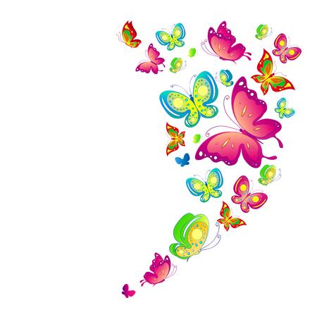 butterflies design Stock Illustratie