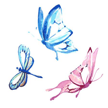 butterflies design Иллюстрация