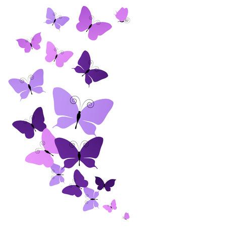 butterfly flower: butterflies design Stock Photo