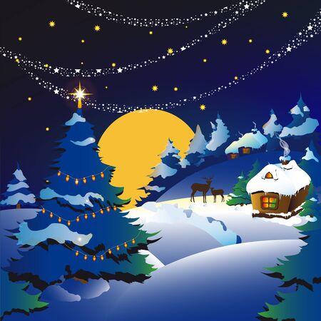 santas village: Christmas day