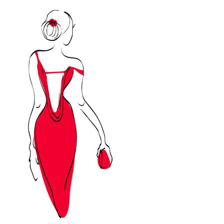 vamp: beautiful woman