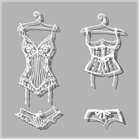 underwear design Stock Photo