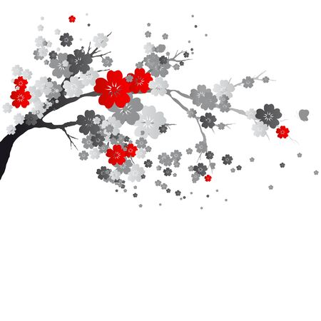 cherry branch Illustration