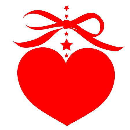 postal card: love hearts,
