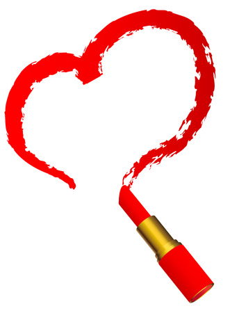 red lipstick: red lipstick
