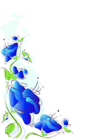 design: flowers design Stock Photo
