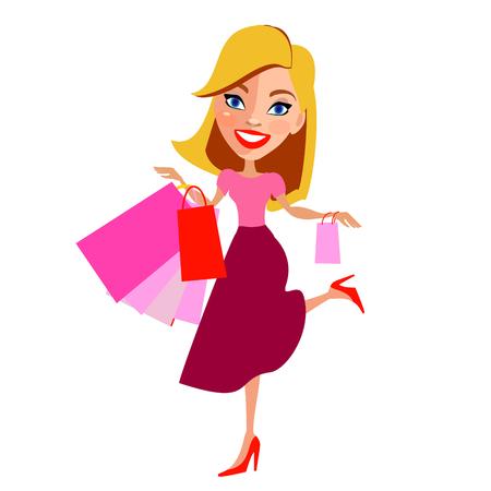 mistress: shopping girl