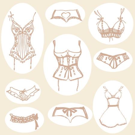 cowards: underwear design Stock Photo