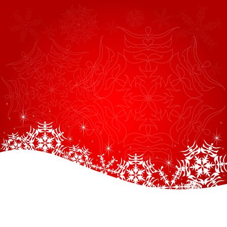 bred: Christmas bred postal Illustration
