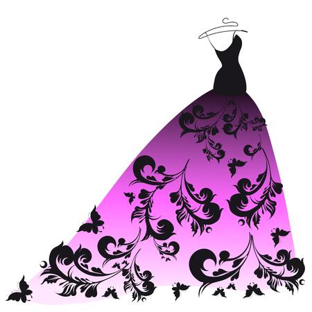 dress design Stock Photo