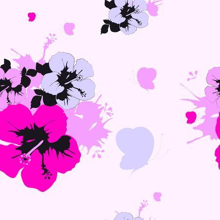 Satz schöne Rosen, Musterblumen, lokalisiert auf einem Weiß