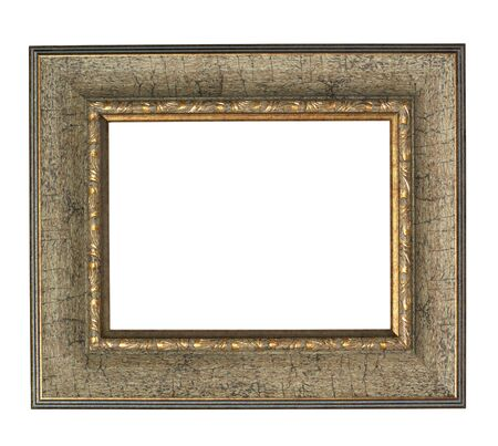 old frame on a white background Stock Photo - 7782970