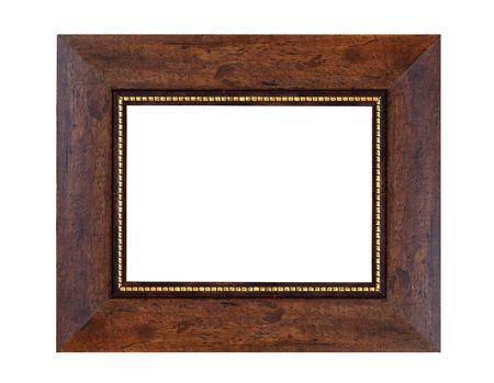 antique frame isolated on white background Stock Photo - 7782961