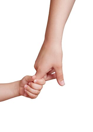 perceptions: Daughter holds the hand of the mother