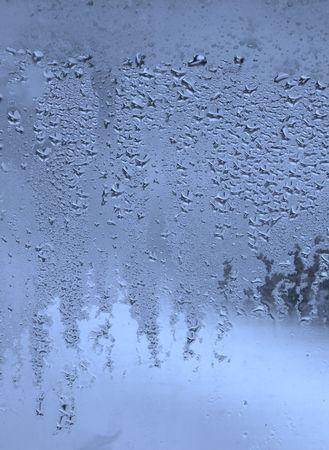 condensation: gotas de cristal