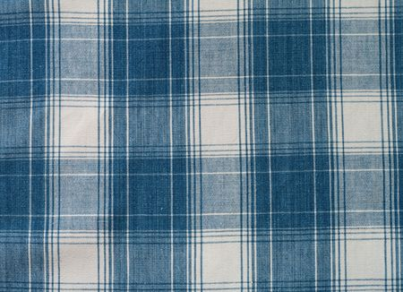 woolen cloth: checker textile background  Stock Photo