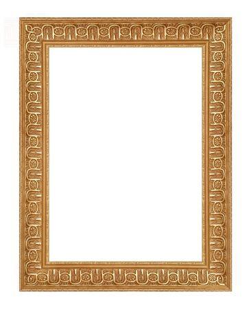 classy golden frame  photo