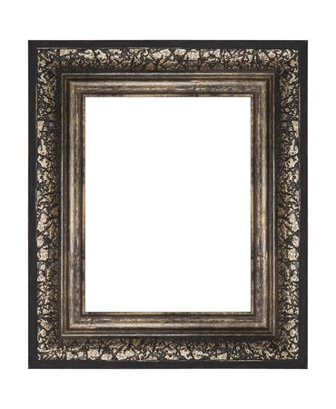old frame on a white background Stock Photo - 8318577