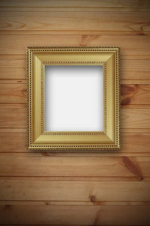 frame on the wall Stock Photo - 8318592