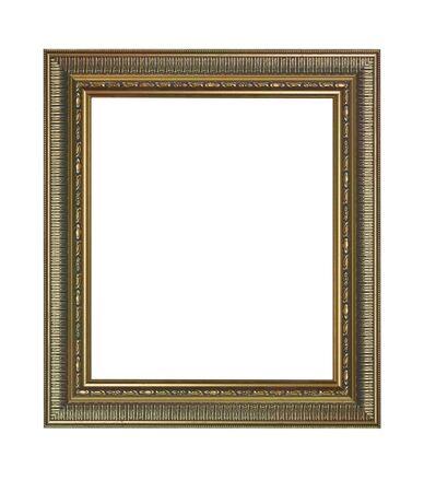 antique frame isolated on white background Stock Photo - 8318499