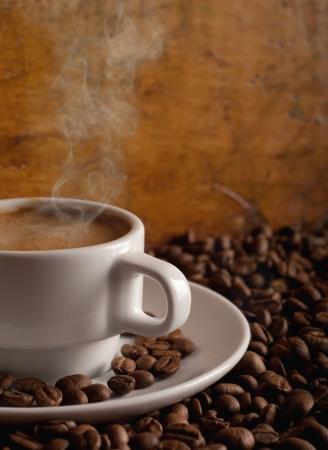 Hot Coffee  Stock Photo - 8543202