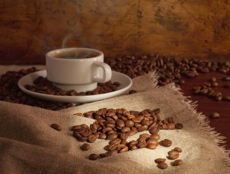 warme koffie