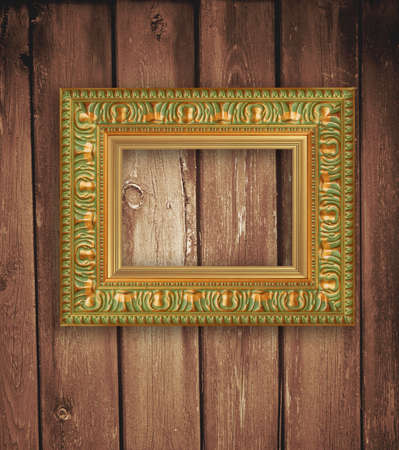 frame on the wall  Stock Photo - 9762593
