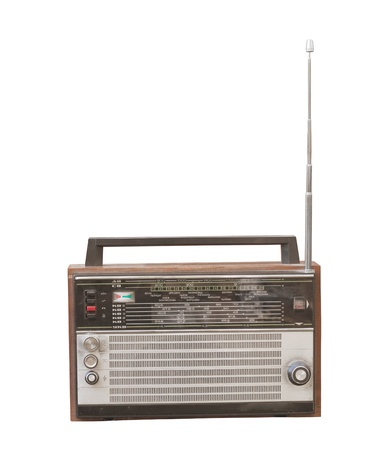 Old radio  Stock Photo - 10600085