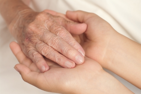 Old and young hands. Stock Photo - 10600167