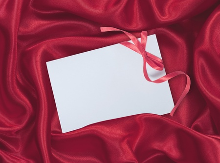 Card with blank space for your text