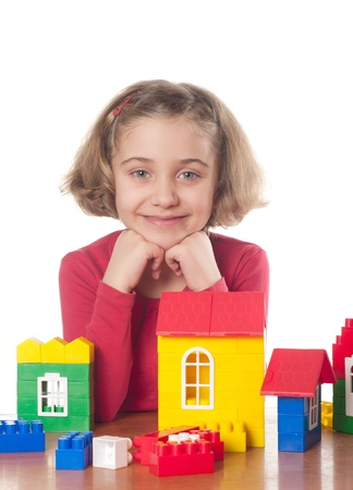Cute little girl  photo